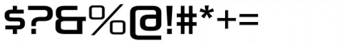 Pirulen Regular Font OTHER CHARS