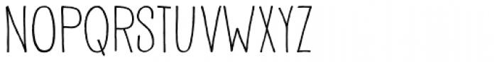 Pisang Font UPPERCASE