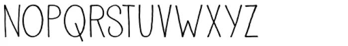 Pisang Font LOWERCASE