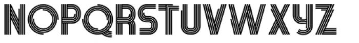 Pista Bold Font UPPERCASE