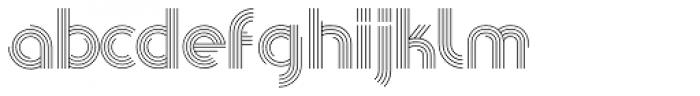 Pista Font LOWERCASE