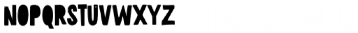 Pistacho Sans 3 Font UPPERCASE