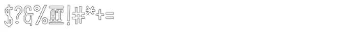 Pistacho Serif 4 Font OTHER CHARS