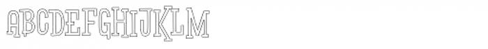 Pistacho Serif 4 Font UPPERCASE