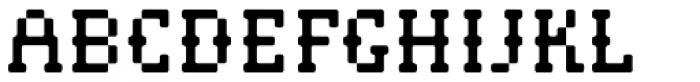 Pistol Shot Light Font UPPERCASE