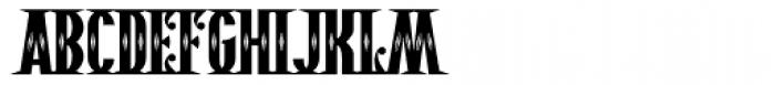Pistolero Deco BB Font UPPERCASE