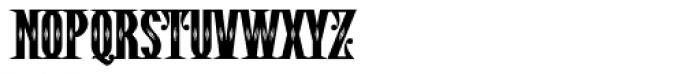 Pistolero Deco BB Font LOWERCASE