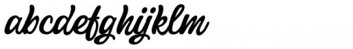 Pistoletto Black Font LOWERCASE