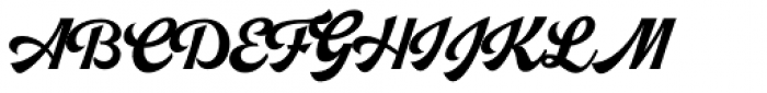 Pitcher Font UPPERCASE