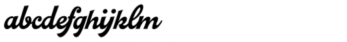Pitcher Font LOWERCASE