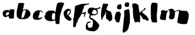 Pitos Deco Font LOWERCASE