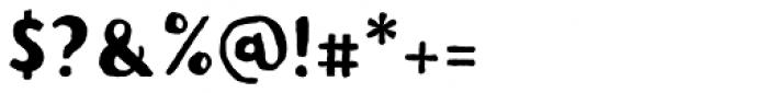 Pitos Sans Font OTHER CHARS