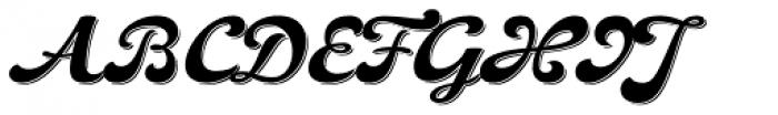 Pivo Shadowed Font UPPERCASE
