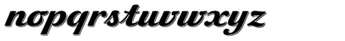 Pivo Shadowed Font LOWERCASE
