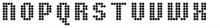 Pixa Circle 212 Font UPPERCASE