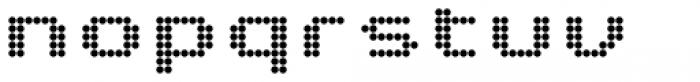 Pixa Circle 232 Font LOWERCASE