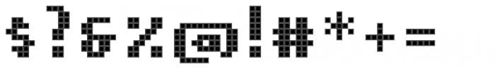 Pixa Square 212 Font OTHER CHARS