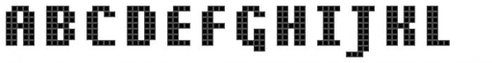 Pixa Square 212 Font UPPERCASE
