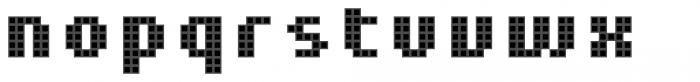 Pixa Square 212 Font LOWERCASE