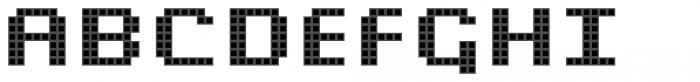 Pixa Square 232 Font UPPERCASE