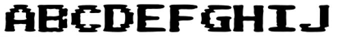 Pixel Arcade Display Font UPPERCASE