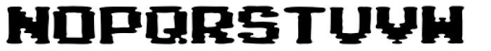 Pixel Arcade Display Font LOWERCASE