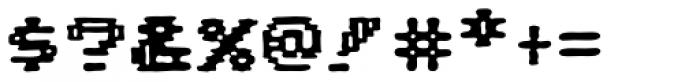 Pixel Arcade Joystick Font OTHER CHARS