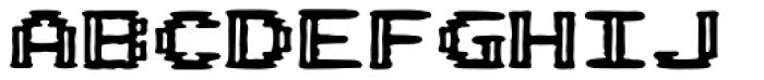 Pixel Arcade Joystick Font UPPERCASE