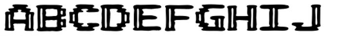 Pixel Arcade Joystick Font LOWERCASE