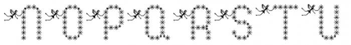 Pixel Dust Bold Font UPPERCASE