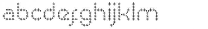 Pixel Dust Bold Font LOWERCASE