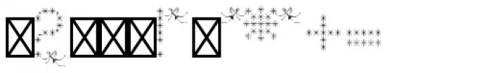 Pixel Dust Caps Font OTHER CHARS