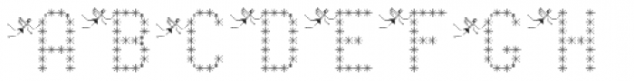 Pixel Dust Caps Font UPPERCASE