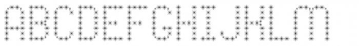 Pixel Dust Caps Font LOWERCASE