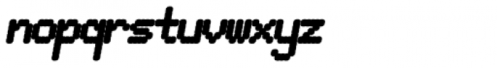 Pixel Gantry AOE Heavy Italic Font LOWERCASE