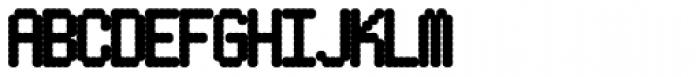 Pixel Gantry AOE Heavy Font UPPERCASE