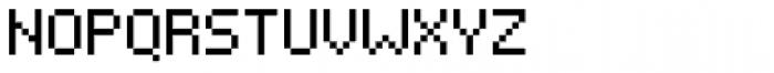 Pixelar Regular Font UPPERCASE