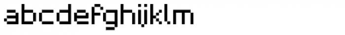 Pixelar Regular Font LOWERCASE