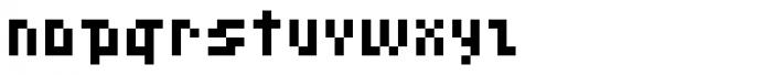 Pixeleite Font LOWERCASE