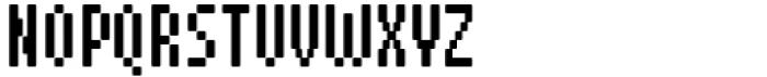 Pixerius Condensed Rounded15 Font UPPERCASE