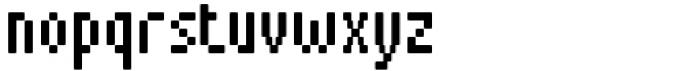 Pixerius Condensed Rounded15 Font LOWERCASE