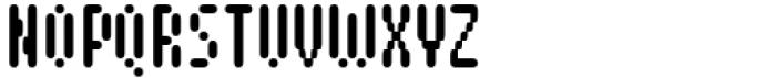 Pixerius Condensed Rounded60 Font UPPERCASE