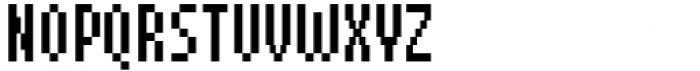 Pixerius Condensed Font UPPERCASE