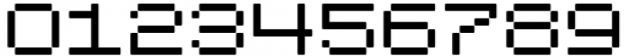 Pixerius Expanded Rounded15 Font OTHER CHARS