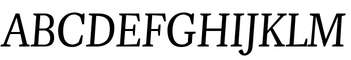 Pigeon Font UPPERCASE