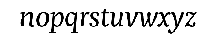Pigeon Font LOWERCASE
