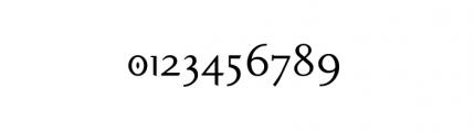 Pilgrim (plain) Font OTHER CHARS