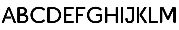 PJ Masks Regular Font UPPERCASE