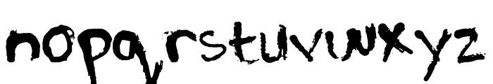 PJGrunge Font LOWERCASE
