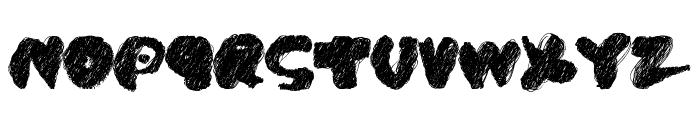 PK CoBrA Font UPPERCASE